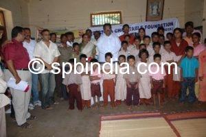 Charity event at Gandhiji Rehabiliation Centre